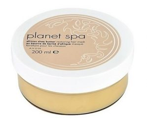 Avon Planet Spa- African shea butter restoring hair mask